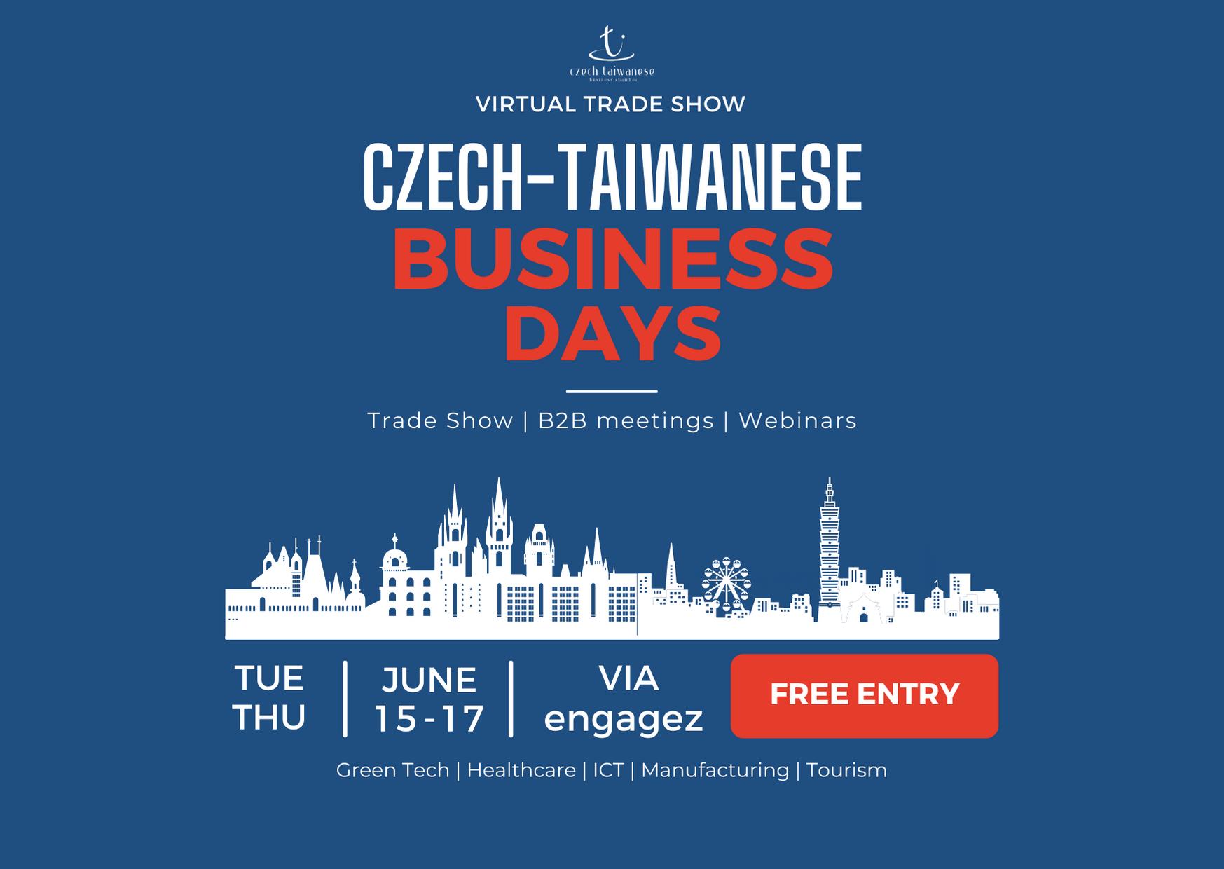 2021年臺捷商機日 Czech-Taiwanese Bushiness Days