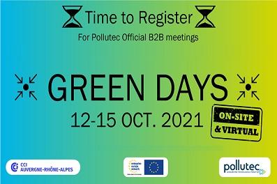 2021 EEN法國GREEN DAY線上媒合會